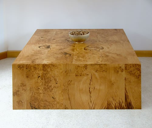Remarkable contemporary coffee table in solid burr oak. 500 x 421 · 41 kB · jpeg