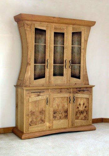three door carafe dresser