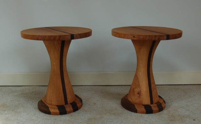 mushroom side tables