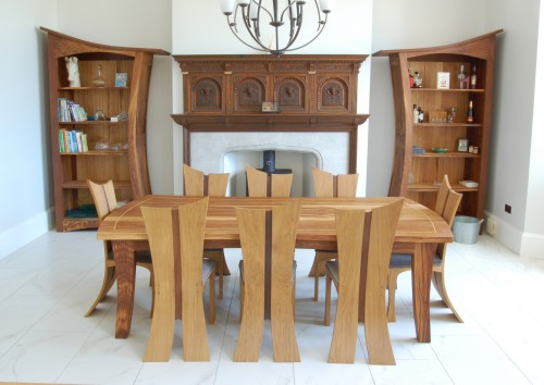 bay chairs with corba dining table