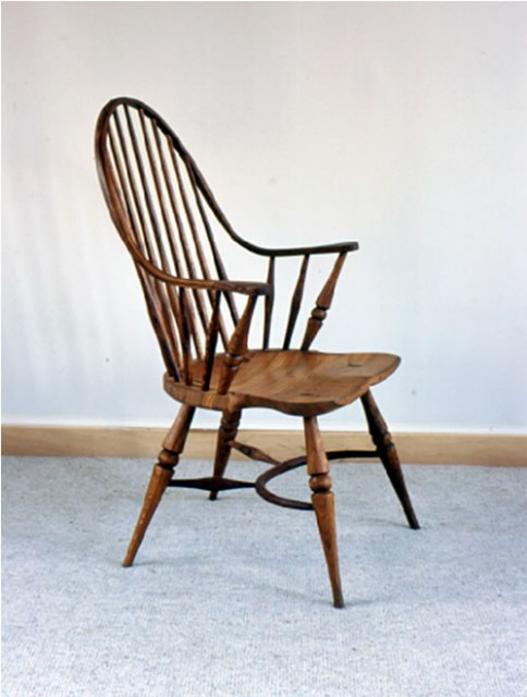 double steam bent windsor chair