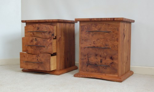 bedside chests of drawers