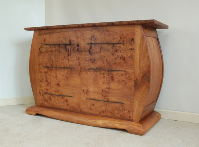 pumpkin chest of drawers
